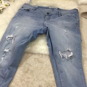 Denim - Torrid distressed jeans size 12